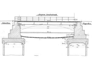 Demolizione e ricostruzione del ponte s. Nicolò a Venezia