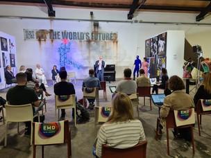 Una immagine della conferenza stampa di presentazione dei Port Days ad Arteminal