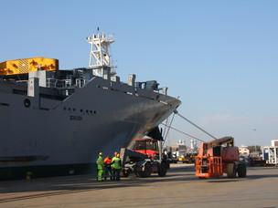 La nuova nave M/V Cp Star