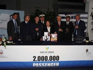 Premiazione del 2.000.000 passeggero