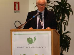 Paolo Costa, Presidente dell'Autorità Portuale di Venezia alla conferenza