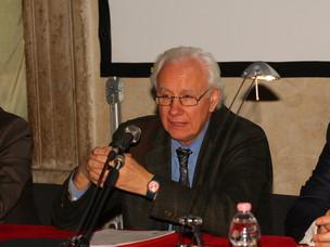 Il Presidente dell'Autorità Portuale di Venezia Paolo Costa al Convegno/assemble