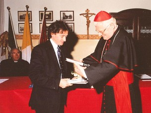 The Patriarch Angelo Scola and Venice Port Authority's Secretary General