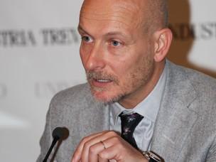 Il dott. Sgambaro, Vice Presidente Unindustria Treviso