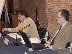 Il dott. Sensini, Segretario Generale dell'Autorità Portuale di Venezia e il dot