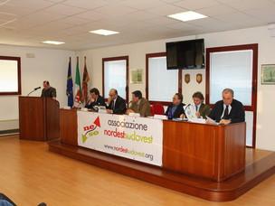 """Un momento del convegno """"La portualità nell'Alto Adriatico: quale futuro?"""""""