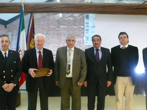 Il Presidente Costa e la delegazione siriana