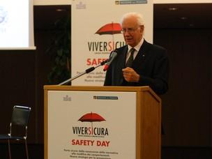 Il Presidente APV Paolo Costa interviene al Safety Day
