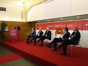 Il Sen. Grillo interviene all'Inaugurazione dell'Anno Portuale