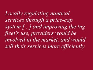 Locally regulating nautical services through a price-cap system rather than the