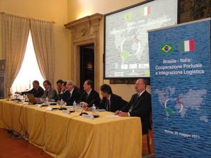 """Seminario """"Brasile-Italia: Cooperazione Portuale e Integrazione Logistica"""""""