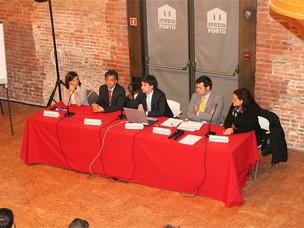 """I relatori del seminario """"Quanto costa un infortunio? La gestione del post-infor"""
