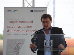 L'assessore regionale alla mobilità e ai trasporti Renato Chisso