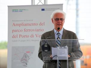 Il Presidente dell'Autorità Portuale Paolo Costa