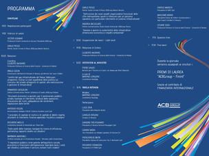 Programma del convegno Realizzazione di infrastrutture