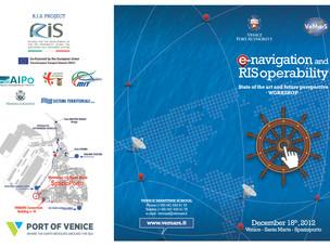 Locandina del convegno E-navigation e RIS operability