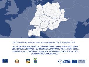 """La locandina dell'evento """"Trasporto sostenibile e cambiamento demografico"""""""