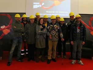 Foto di gruppo del Safety day 2013