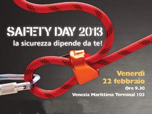 Locandina del Safety Day 2013