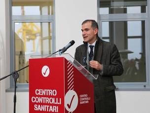 Giampiero Attili, Direttore del Centro di Ispezione Frontaliero