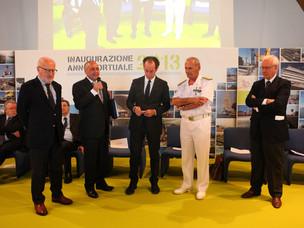 Premiazione del Capo pilota del Porto di Venezia Ciro Romano
