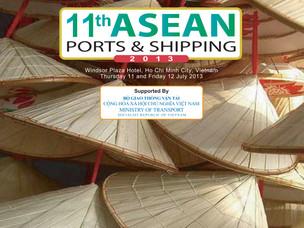 Locandina della conferenza internazionale Asean Ports and Shipping
