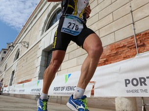 Un'immagine dell'edizione 2011 della Venice Marathon
