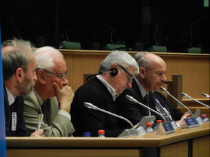 Immagine dell'evento del 25 novembre in Parlamento Europeo
