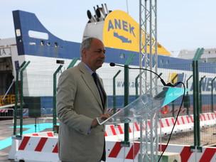 Nuovo terminal delle Autostrade del Mare. Avvio della prima banchina
