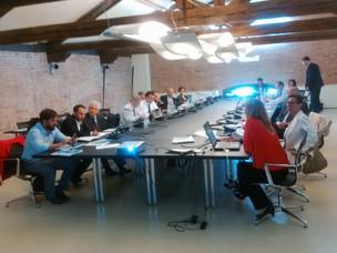 I partecipanti al tavolo tecnico del progetto Adriamos