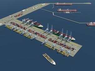 Offshore rendering