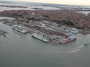 Aerial view - Venice Marittima