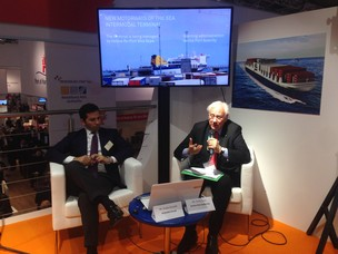 Presidente di APV Paolo Costa e Guido Grimaldi Corporate Short Sea Shipping Comm