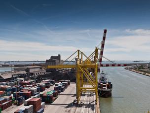 Una vista del porto