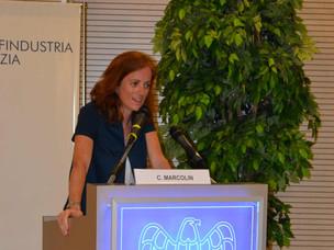 Il Segretario Generale di APV Claudia Marcolin