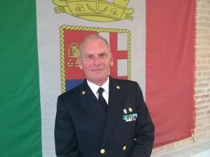 L'Ammiraglio Piattelli, comandante del Porto di Venezia