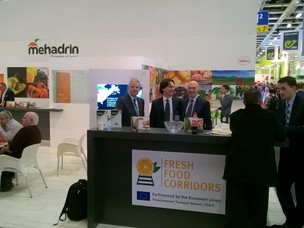 Lo stand al Fruit Logistica di Berlino