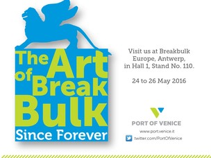Il Porto di Venezia alla fiera Break Bulk Europe