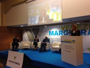 L'Assessore ai lavori pubblici, infrastrutture e trasporti Elisa De Berti