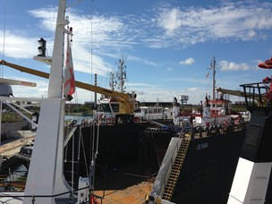 Visita alla sede galleggiante dei Rimorchiatori Panfido