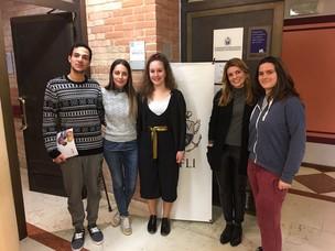 Gli studenti a CFLI, ente di formazione dell'Autorità Portuale di Venezia