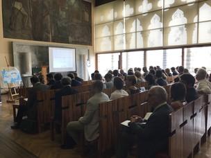 L'evento si è tenuto nell'aula Baratto dell'università Ca'Foscari