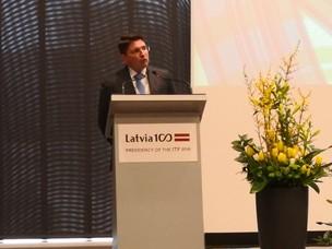Il Presidente Musolino alla Conferenza ITF di Riga