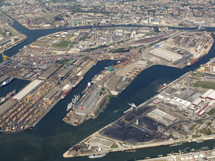 Venice's commercial port